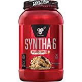 BSN Syntha-6 Whey Protein Powder, Cold Stone Creamery-Germanchökolätekäke Flavor, Micellar Casein, Milk Protein Isolate Powder, 25 Servings