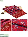 20% Mulberry Silk Scarves Brocade Shawls Stoles Gifts Handicrafts