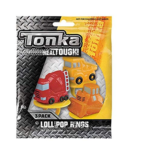 Tonka Trucks Lollipop Rings (3 Count) -