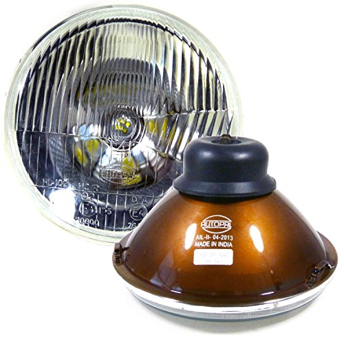 H6024 7 Inch Headlights Uses H4 Bulbs Non-Sealed 6012/6014/6015/H6017 (Pack of ()