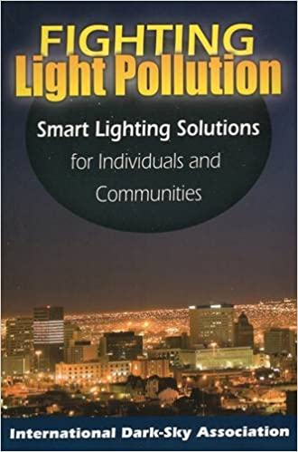 Fighting Light Pollution: Smart Lighting Solutions for Individuals and Communities: Amazon.es: International Dark-Sky Association: Libros en idiomas ...