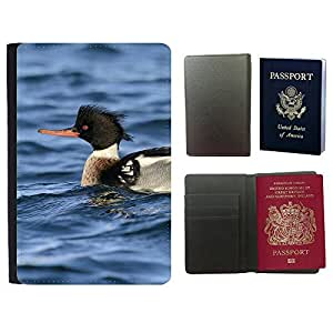 Passeport Voyage Couverture Protector // F00001732 animales al aire libre de aves // Universal passport leather cover