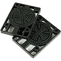 Indy monopatín independiente Riser Pads Pack de 2negro