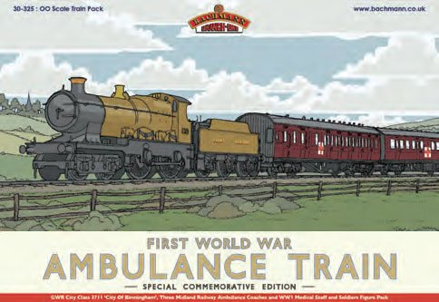 BRANCH-LINE 30-325 Ambulance 40 Train Pack OO Scale Model