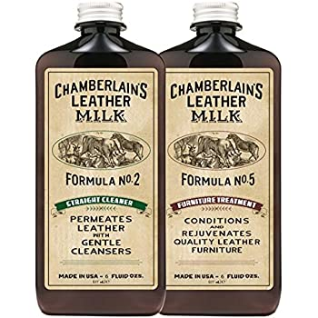leather milk leather furniture cleaner conditioner kit 2 bottle furniture care set straight cleaner no 2 furniture treatment no - Leather Furniture Care Kit