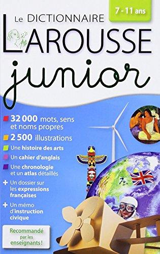 Dictionnaire Larousse Junior 7/11 ans  [Larousse] (Tapa Dura)