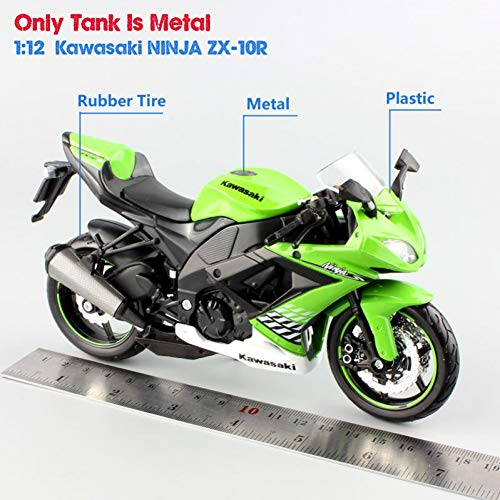 CHEMOXING 1:12 Sport Diecast Vehicle Mini Motorbike for sale  Delivered anywhere in Canada