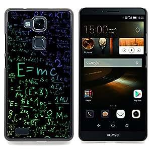 - E=MC2 Physics/ Duro Snap en el tel????fono celular de la cubierta - Cao - For HUAWEI Ascend Mate 7