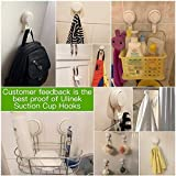 LUXEAR Suction Hooks Powerful Vacuum Suction Cup