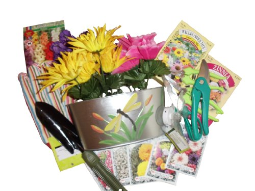 Yellow Flower Gift Basket - 5