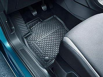 Original VW Phaeton 3D Gummimatten vorn hinten Gummifußmatten schwarz