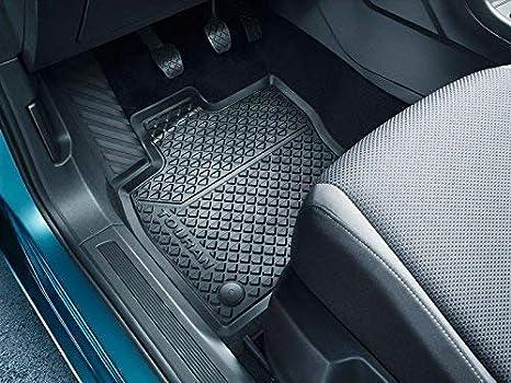 ab 2015 Allwettermatten Titanschwarz 4-teilig vorn und hinten Original Gummifu/ßmatten VW Touran II