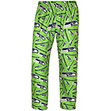 Forever Collectibles NFL Mens Repeat Print Logo Polyester Comfy Pants