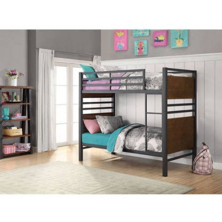 Better Homes And Gardens Mercer Twin Over Twin Metal Bunk Bed