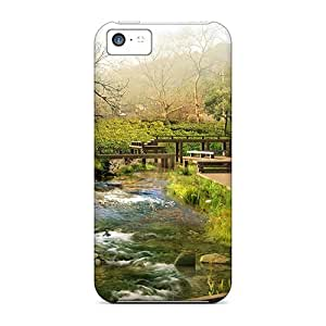 linJUN FENGAbrahamcc Case Cover For Iphone 5c - Retailer Packaging Chinese Landscape Protective Case