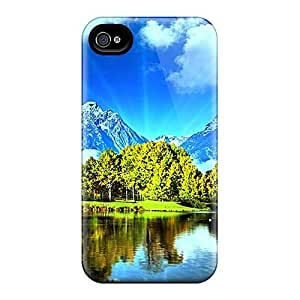 Jeffrehing Case Cover For Iphone 4/4s - Retailer Packaging The Three Natures Protective Case