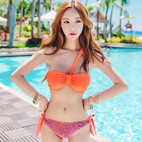 YUPE Hot spring Badeanzug Triangel Bikini 2-teilig hot spring Badeanzug Frau/Frauen