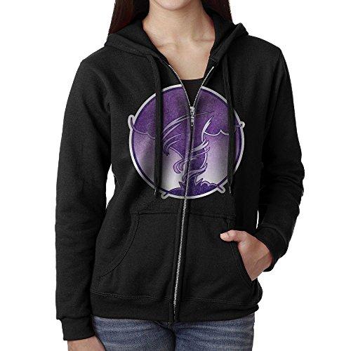 Element Icon Air Women Casual Long Sleeve Hooded Zipper Hoodies Sweatshirt Coat With Fleece Winter Windproof Zipper Jacket Size L Black