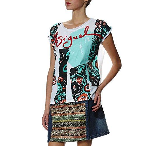 Desigual - Camiseta - para mujer blanco