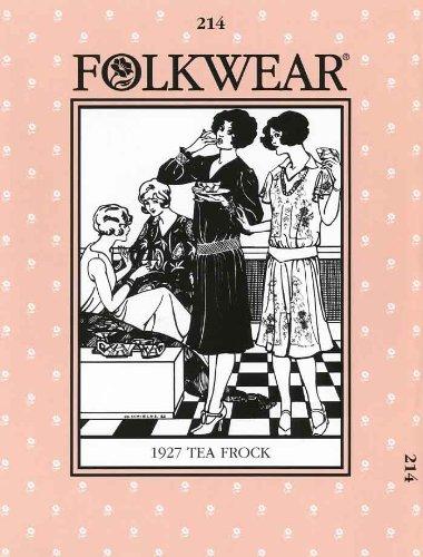 Patterns - Folkwear #214 1927 Tea Frock