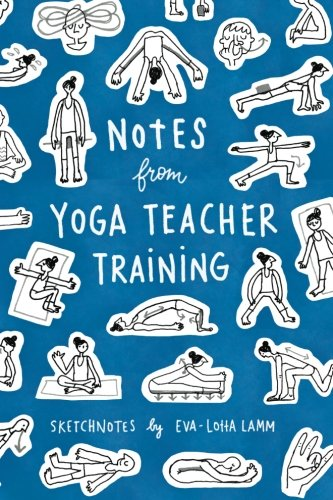 - Notes from Yoga Teacher Training: Sketchnotes by Eva-Lotta Lamm
