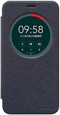ASUS ZenFone 2 Laser ZE500KL 5.0-Inch Funda Case - IVSO Slim Armor Cover Funda Protectora para ASUS ZenFone 2 Laser ZE500KL Smartphone (Slim Book Series - Negro): Amazon.es: Hogar