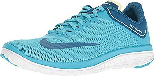 Nike Kvinnor Fs Lite Körning 4 Löparsko Klor Blå Industriell Blå
