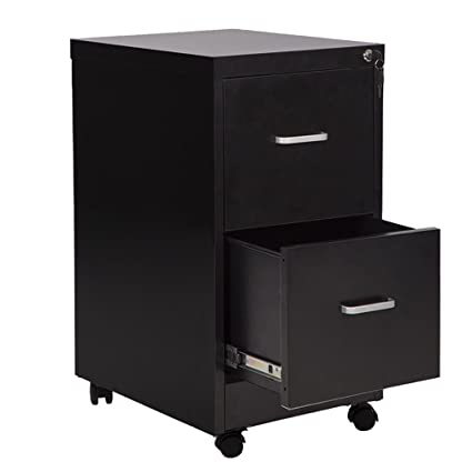 Beau Mr Direct 18u0026quot; Wide 2 Drawer Letter Size Steel File Cabinet With Lock  And 4