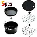 Universal Air Fryer Accessories Pack,5pcs for Gowise Phillips and...