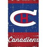 Montreal Canadiens - Retro Logo 13 Poster Print (22 x 34)