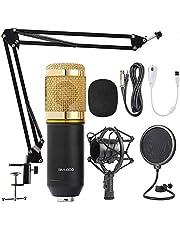 Kit Micrófono Condensador Profesional Estudio Bm800 Negro