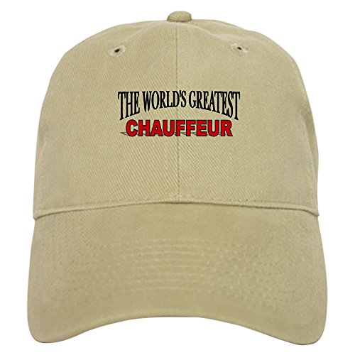CafePress The World's Greatest Chauffeur Baseball Cap with