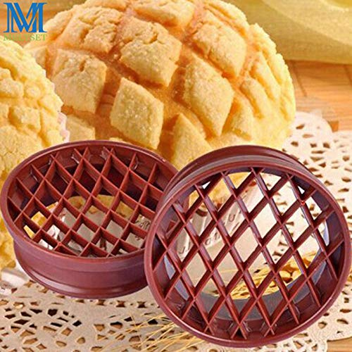 Baking Pastry Tools|Lattice Press Pineapple Bun Mold Plastic Bread Cake Mould Baking Pastry Tools Muffin Cake Decoration Tools|By -