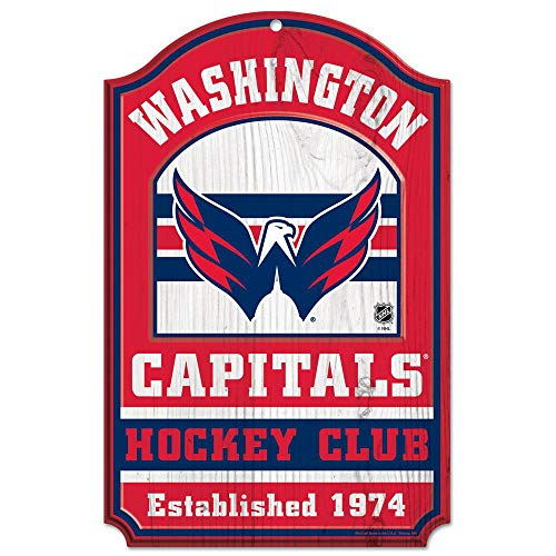 WinCraft NHL Washington Capitals 35891014 Wood Sign, 11