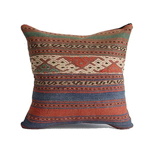 Moroccan Floor Pillows: Amazon.com: 18x18 Kilim Pillow Southwest Pillow Turkish