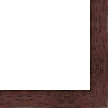 Amazoncom 35x35 35 X 35 Mahogany Flat Solid Wood Frame With Uv