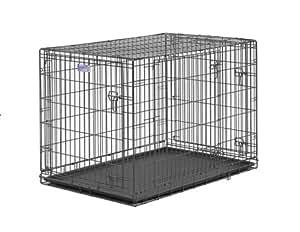 Amazon Com Midwest Select Triple Door Dog Crate 42