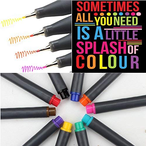 Fineliner Color Pen Set