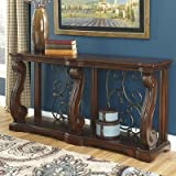 Astoria Grand Classic-Modern Curvaceous Console Table