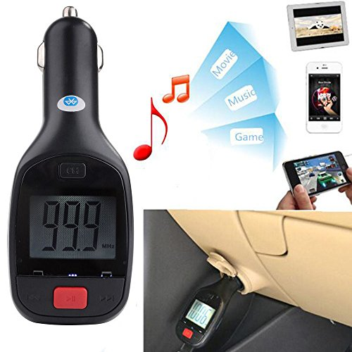 Speed Zune - FAVOLCANO Wireless Remote Control Bluetooth MP3 Player FM Transmitter SD-USB Car Kit Charger Handsfree Mic for iPhone 7 7s 6 6s 5 4 Galaxy S7 S6 S5 S4 S3 N4 N3