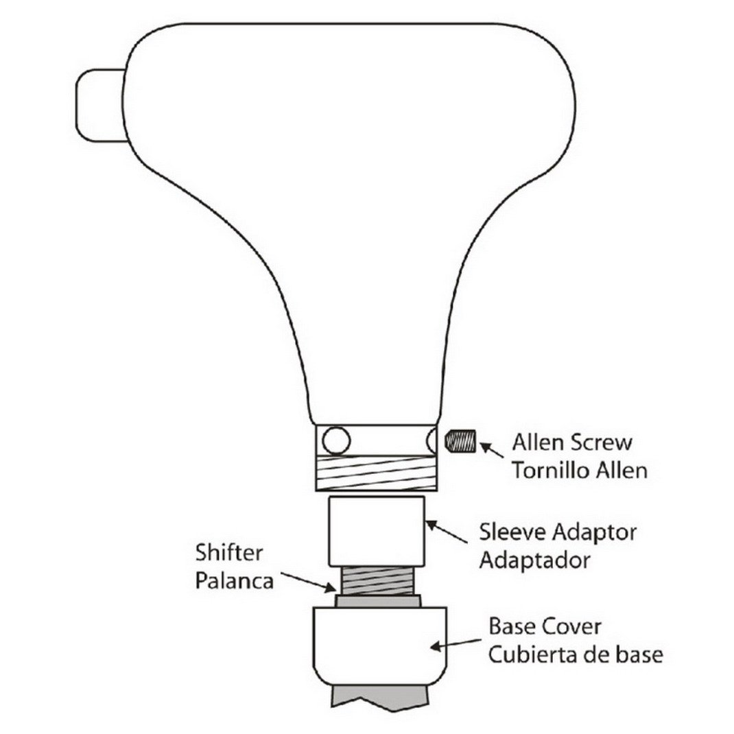 AOOPOO Auto Car Triangular Shift Knob Cap for Automatic Car Premium PU Leather Automatic Gear Shift Knob