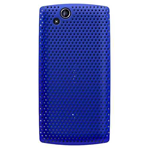 KATINKAS 6007314 Hard Cover Case for Sony Ericsson Xperia Arc/S - Air - 1 Pack - Retail Packaging - Blue (Xperia S Ericsson Sony Case)