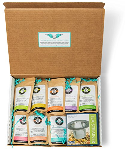 (Pregnancy Tea - Perfect Pregnancy Gift for Women - Birds & Bees Teas Sampler Set is a Favorite for Expecting Mother's - Great Pregnant Mom Gift for First Time Moms and Pregnancy Announcement Gift)