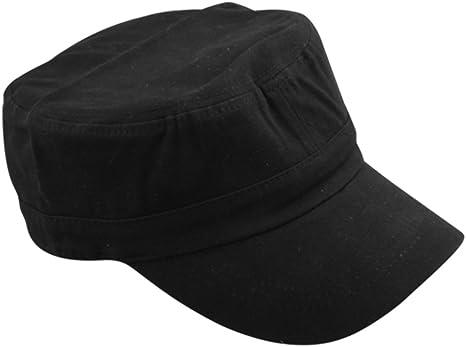 gorra gorro estilo hombre negro algodón transpirable