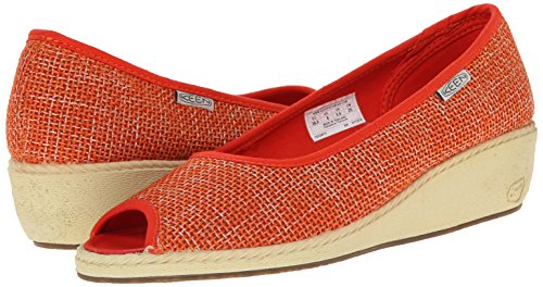 KEEN-Womens-Cortona-Wedge-Jute-Pumps thumbnail 7