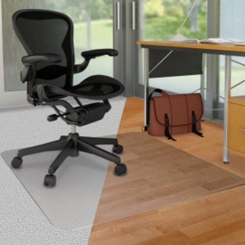 Office Chair Mat with Lip for Hardwood Floors 48 x 36 - Floo