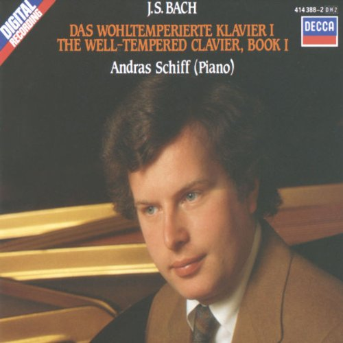 The Well-Tempered Clavier, Book 1 (2 CD) by Decca