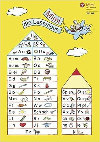 Mimi Die Lesemaus Anlautposter Ausgabe E Amazon De Bücher