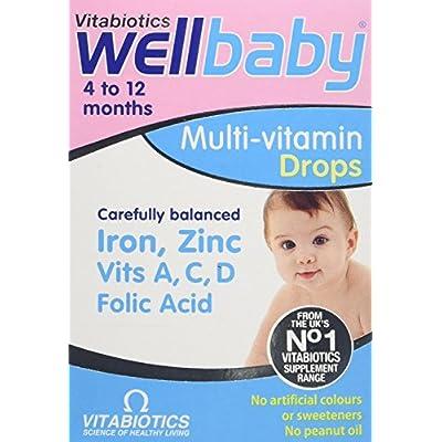 Vitabiotic (2 Pack) - Wellkid Baby Drops 30Ml 2 Pack Bundle