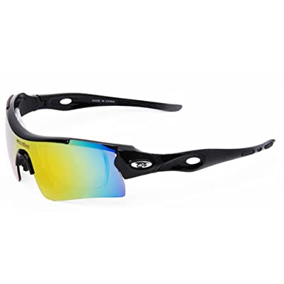 SaySure - WOLFBIKE Professional UV 400 Polarized Lens Cycling Glasses Bike Casual Goggles Outdoor Sports Bicycle Sunglasses 3 color - GMN-BG-SPT-000286